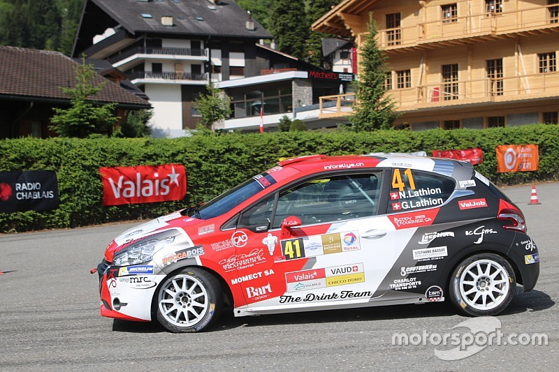 Rallye du Chablais Junior: Nicolas Lathion macht Loeb alle Ehre