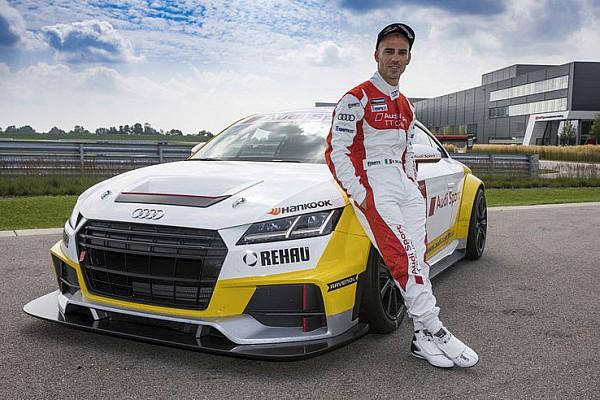 Marco Melandri correrà nell'Audi Sport TT Cup al Nurburgring