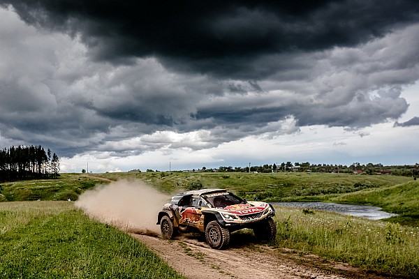 Silk-Way-Rallye 2017: Auftaktsieg für Peugeot-Fahrer Sebastien Loeb