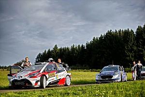WRC 速報ニュース 【WRC】トヨタのハンニネン「ドイツは数年ぶり。良い1日になった」
