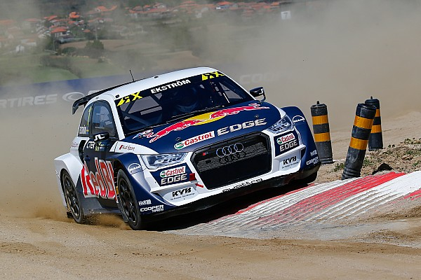 Portugal WRX: Ekstrom fends off Loeb in last-lap thriller