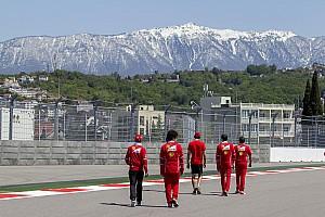 Formula 1 Top List GALERI: Suasana Kamis di GP Rusia