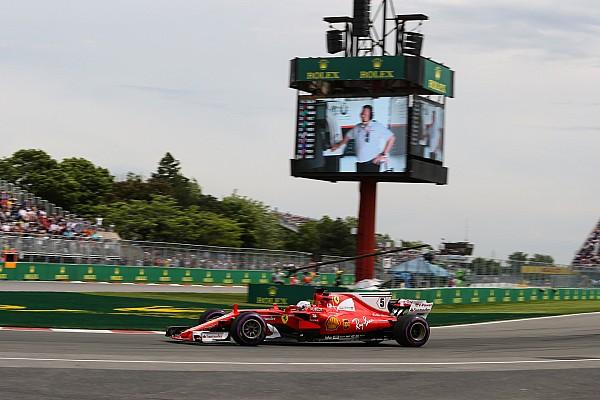 Vettel finaliza primero previo a la clasificación en Canadá