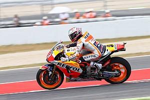 MotoGP Отчет о тренировке Маркес стал быстрейшим в третьей тренировке, Yamaha провалилась