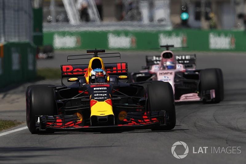 Red Bull: La menace Force India dépend des circuits