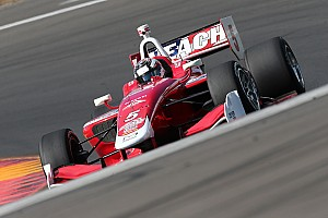 Indy Lights Race report Veach scores masterful win at Watkins Glen