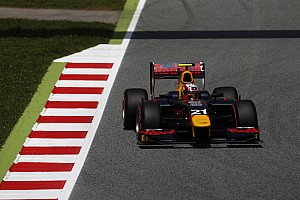 FIA F2 Qualifying report Barcelona GP2: Gasly beats Nato for first pole of 2016