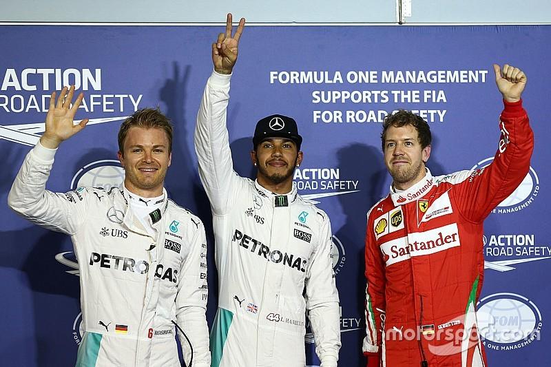 Grand Prix von Bahrain: Lewis Hamilton fährt mit Rekordrunde auf die Pole-Position