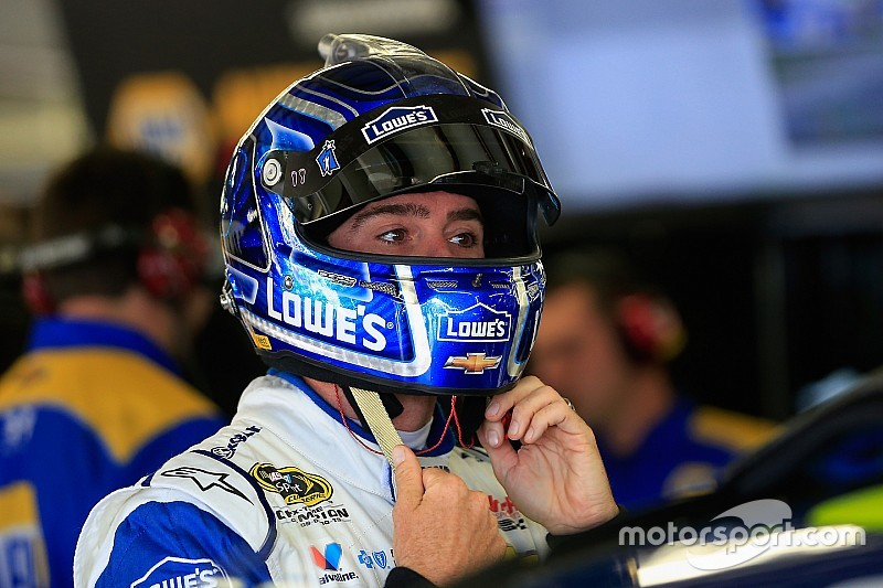 Final Talladega practice ends with Jimmie Johnson on top
