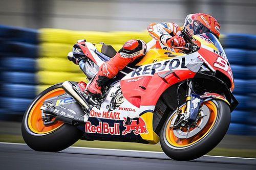 MotoGP Fransa 3. antrenman: Islak zeminde en hızlısı Marquez!