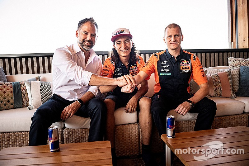 Can Oncu sarà il più giovane rookie della Moto3 con Red Bull KTM Ajo