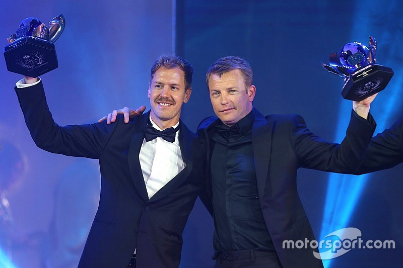 Kimi stars at FIA Awards, as Hamilton is crowned