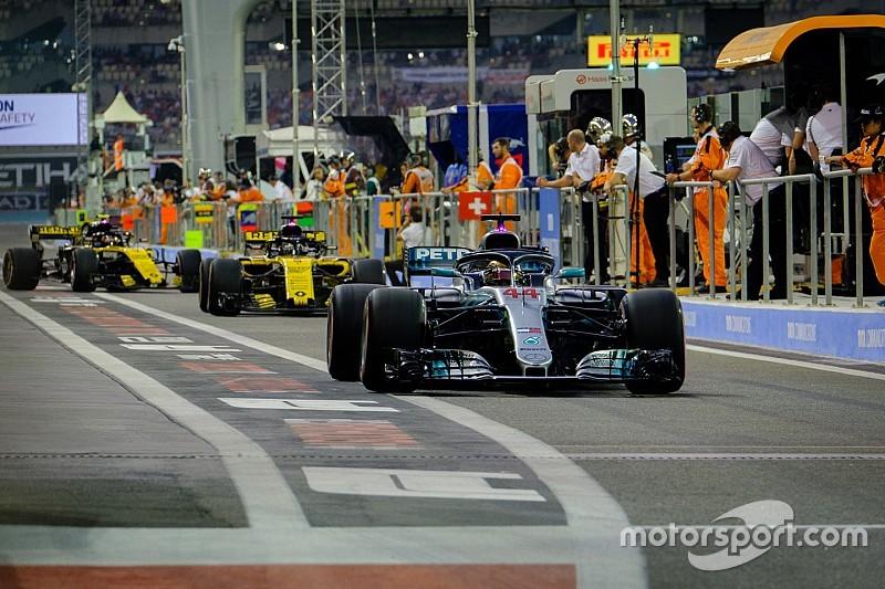 Top F1 teams will