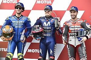 La grille de départ du GP de Valence MotoGP