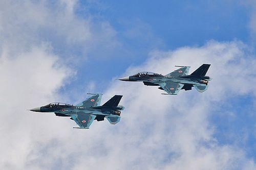 スーパーGT第7戦もてぎ決勝日に「F-2B 戦闘機」の歓迎フライトを実施。観戦チケットの販売もスタート