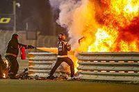 La FIA revela las causas del incendio en el accidente de Grosjean en Bahrein