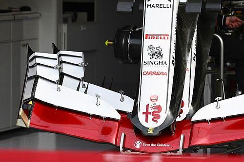 Formel-1-Technik: Detailfotos beim Emilia-Romagna-Grand-Prix 2021 in Imola