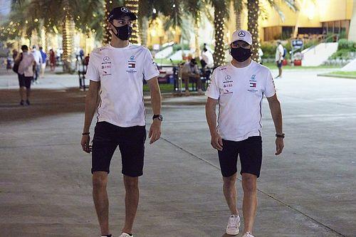 Mercedes: Sakhir not a shootout between Russell, Bottas for 2022