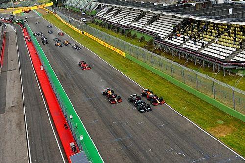 Verstappen, sorprendido por la mejora de Red Bull en la salida