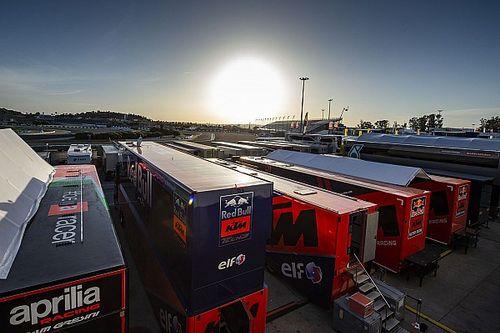 MotoGP monta el paddock de Jerez bajo estrictas medidas de seguridad