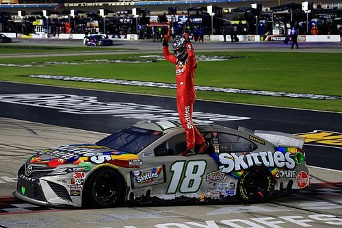 Kyle Busch scores first Cup win of 2020 in delayed Texas race