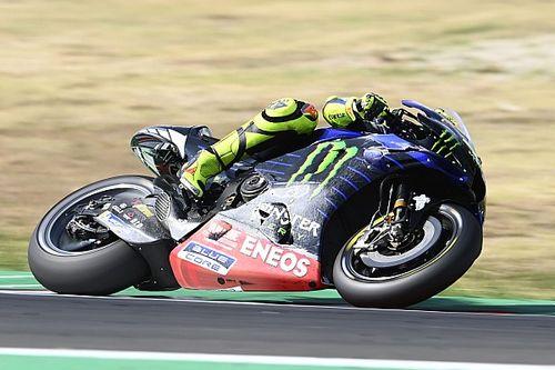 """Rossi crasht na anderhalve ronde: """"Het verandert niet veel"""""""