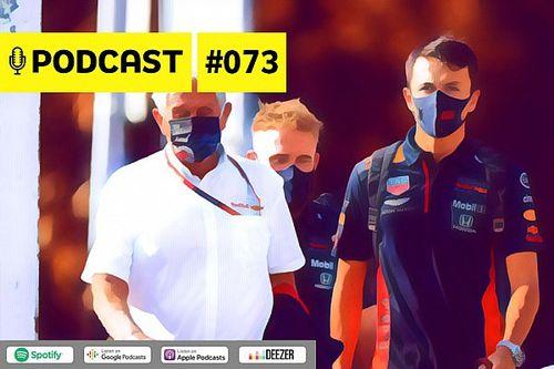 Podcast #073 – É bom negócio ser companheiro de Max Verstappen na Red Bull?