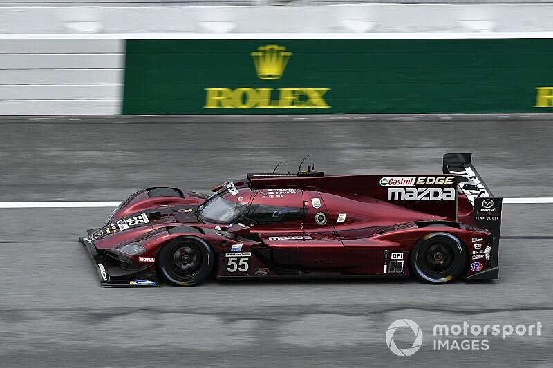 Bomarito y Mazda lideran los libres 2 en Daytona; Alonso, 7º