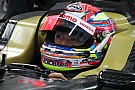 Super Formula team tests innovative visor display