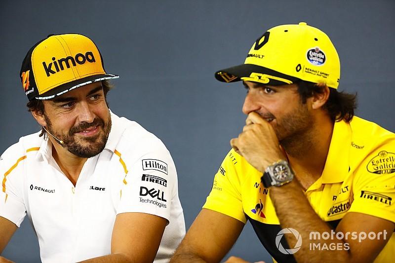 Carlos Sainz über sein Idol: Fernando Alonso