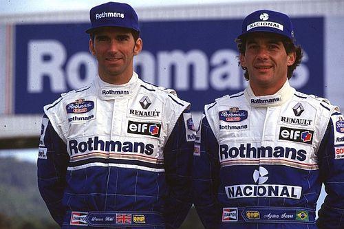 """Hill """"no estaba preparado"""" para liderar Williams tras la muerte de Senna"""