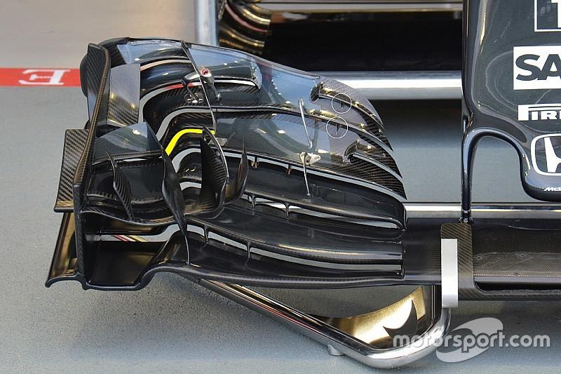 Технический брифинг: переднее крыло McLaren