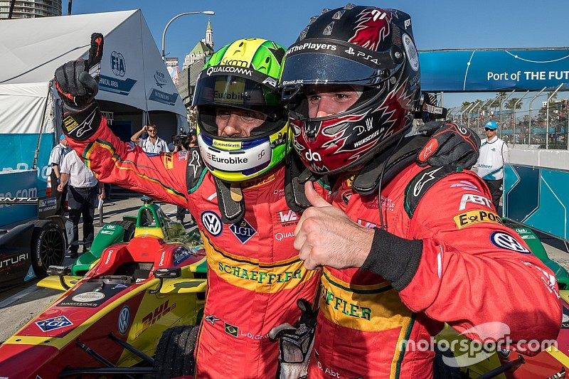 """Abt and di Grassi: """"We just fit together perfectly"""""""