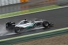 Під час тестів Pirelli Росбергу зашкодила погода