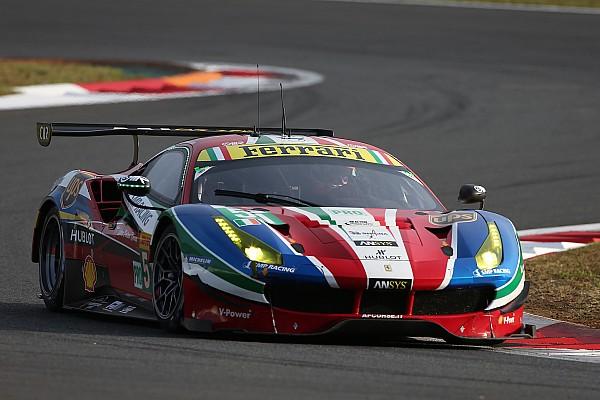 WEC Breaking news Pier Guidi takes Bruni's Ferrari WEC seat