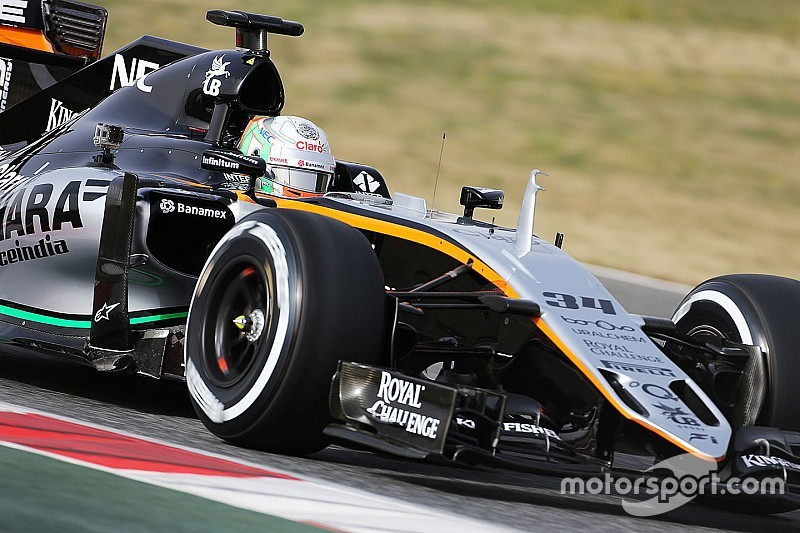 """Force India duo admit sitting out test """"not ideal"""""""