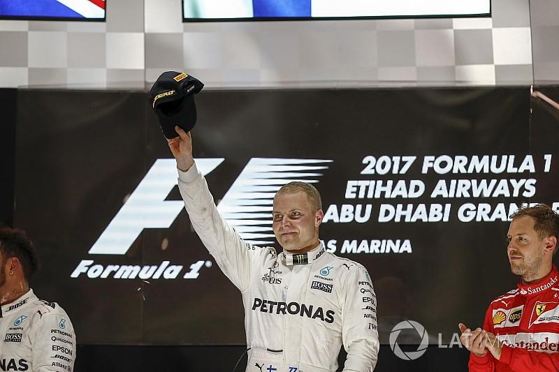 Bottas, aliviado y con ganas de seguir en 2018 como en Abu Dhabi