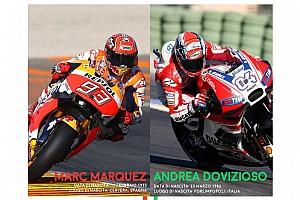 MotoGP Statistics Infografica: ecco tutti i numeri del duello tra Dovizioso e Marquez