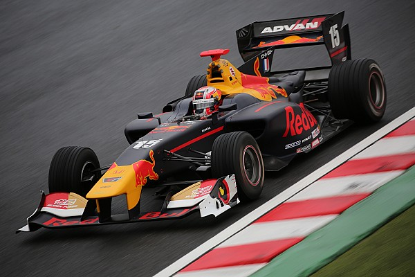 Super Formula Gasly baalt na afgelasting Super Formula-finale: