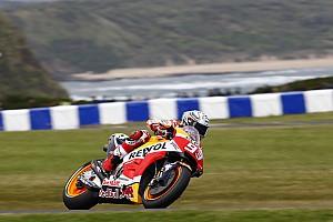 MotoGP Résumé de qualifications Qualifs - La pole pour Márquez, Dovizioso seulement 11e