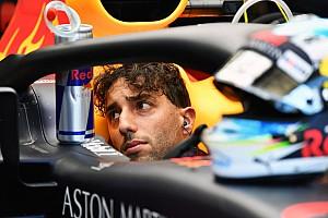 Ricciardo perde três posições no grid por infração no TL2