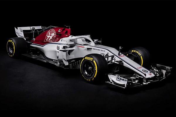 F1 突发新闻 索伯C37赛车携阿尔法·罗密欧涂装问世