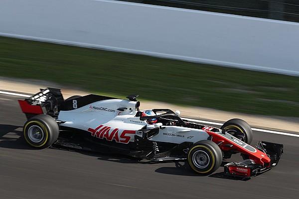 Formule 1 Actualités La Haas VF-18 a pris la piste