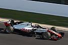 La Haas VF-18 a pris la piste