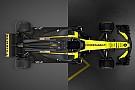 Fórmula 1 Compare o Renault RS17 com o novo RS18