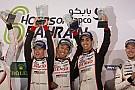 WEC WECバーレーン決勝:8号車トヨタ圧勝。トヨタ勝ち星でポルシェ越え