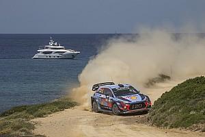 WRC Breaking news Hyundai: