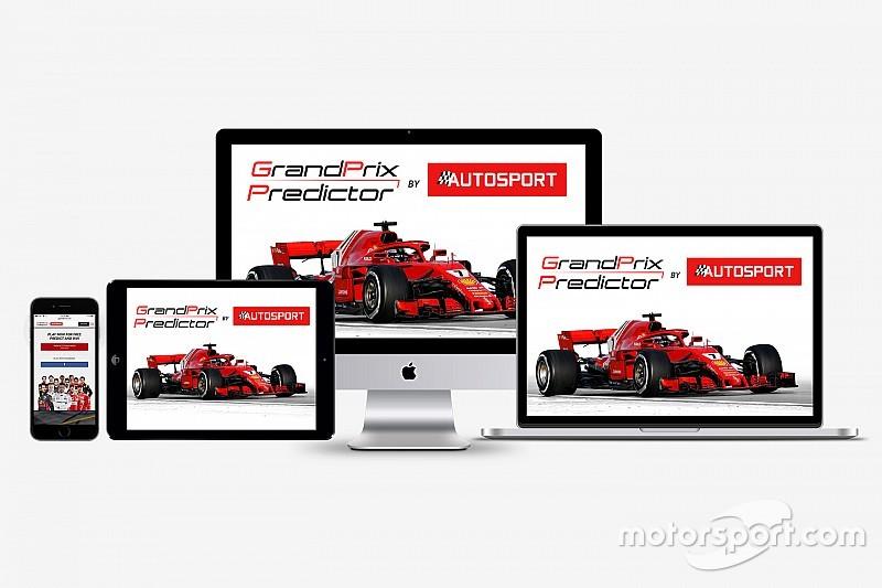 Grand Prix Predictor game returns for 2018