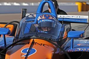 IndyCar Réactions Scott Dixon raisonnablement optimiste à propos du pare-brise