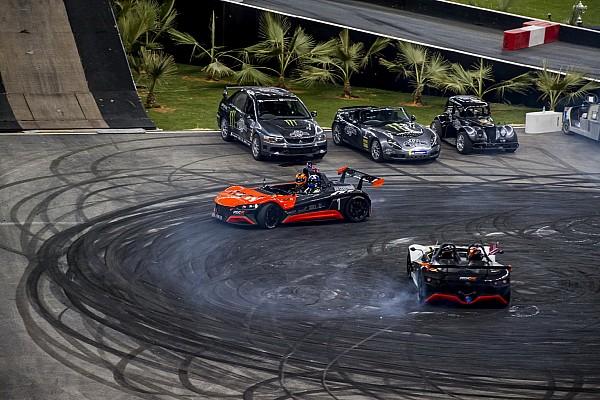 Galería: el festival y las sorpresas de la Race of Champions 2018